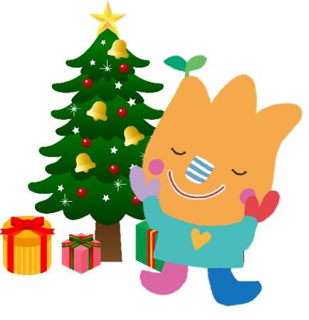 せんりひじり幼稚園のマスコット、クリスマスversion