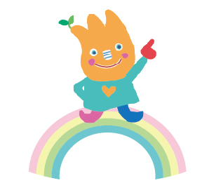 ひじりん せんりひじり幼稚園のマスコット